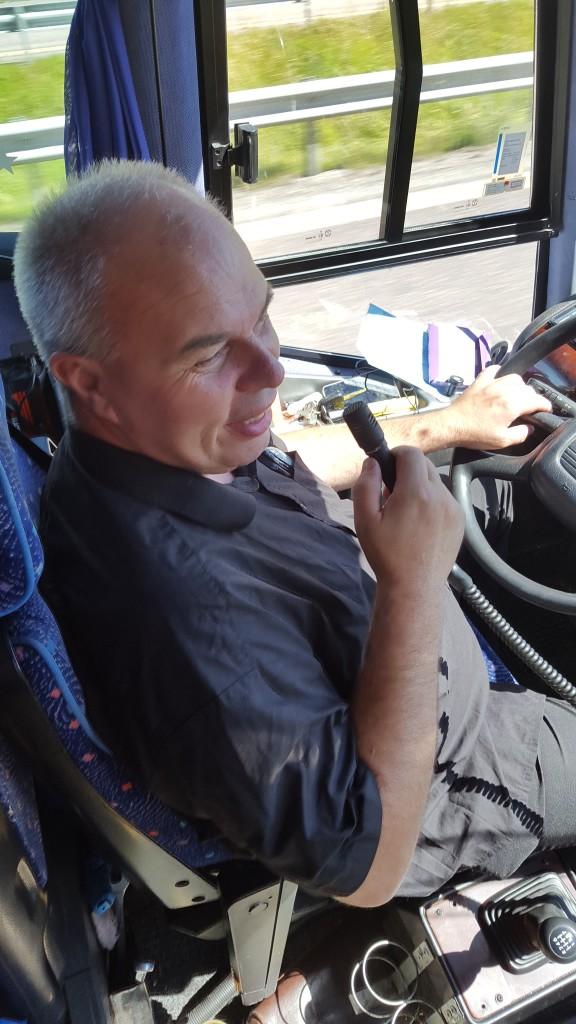 En Bussjåfør ved navn Øystein