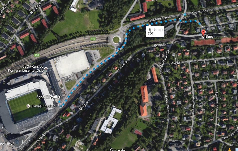 Gåtur Berg-Ullevaal