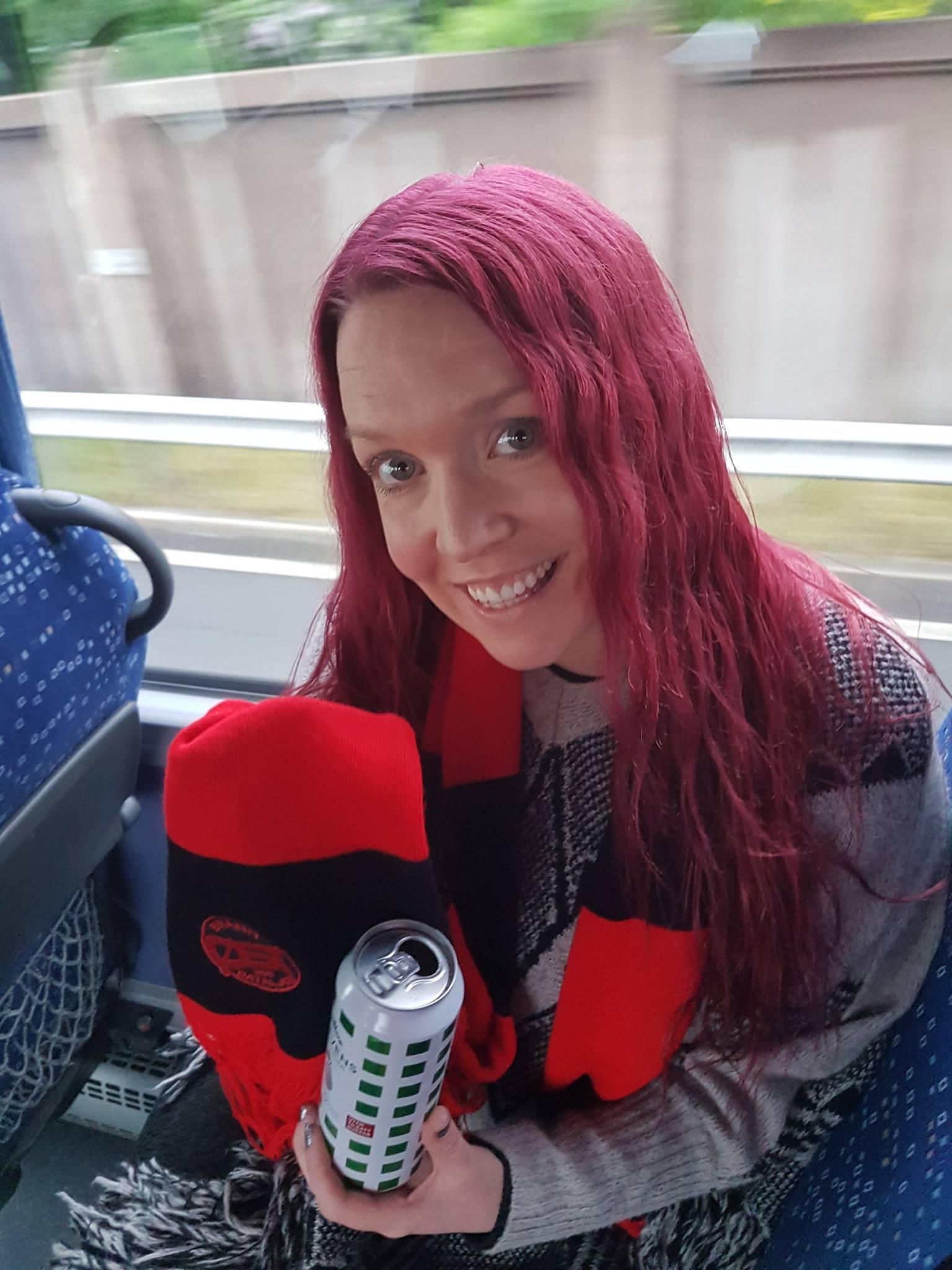 Første fyrebuss for Christine, Sogndal var bare en oppvarmingstur...
