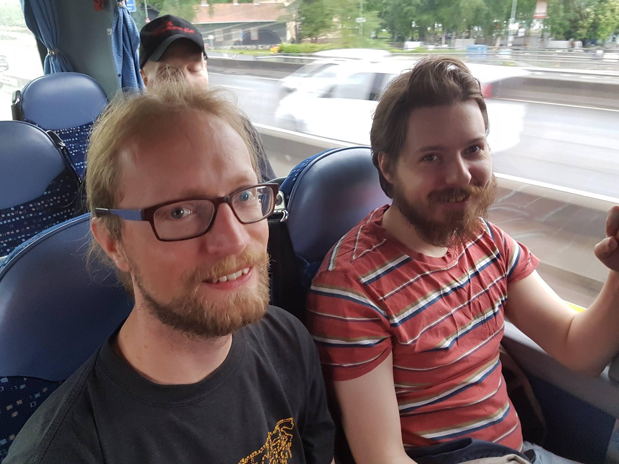 The beard boys...