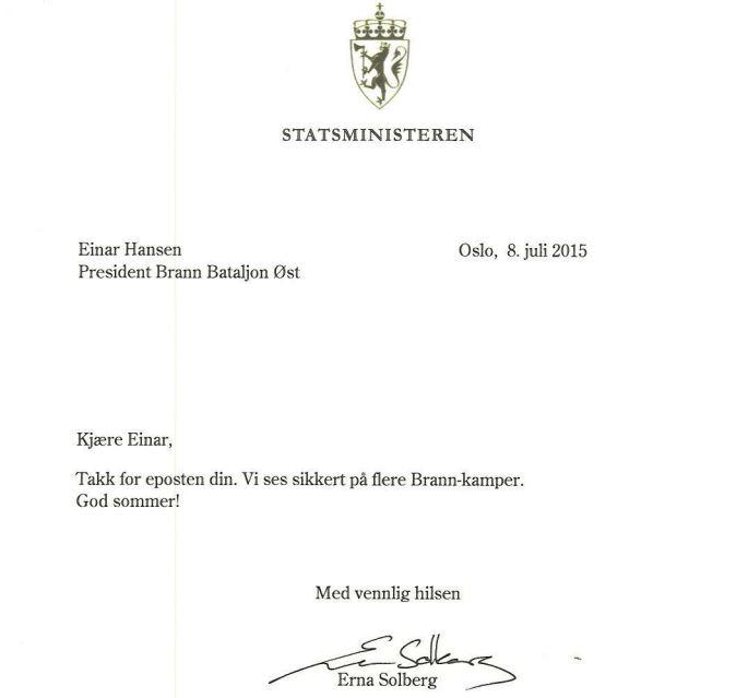 Statsministeren
